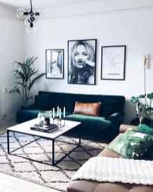 80 Smart Solution Small Apartment Living Room Decor Ideas (76)