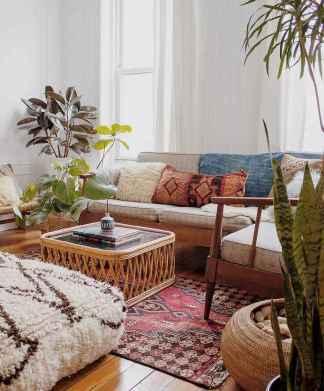 88 Beautiful Apartment Living Room Decor Ideas With Boho Style (18)