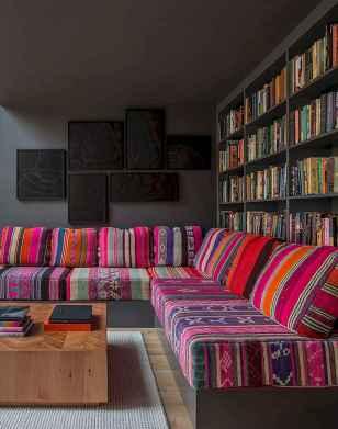 88 Beautiful Apartment Living Room Decor Ideas With Boho Style (19)