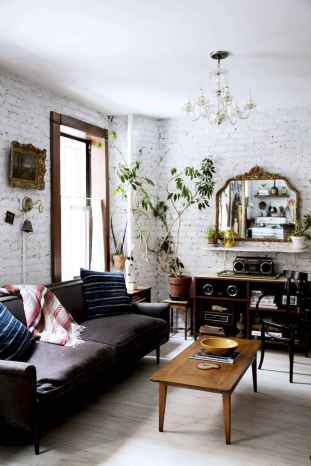 88 Beautiful Apartment Living Room Decor Ideas With Boho Style (31)
