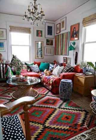 88 Beautiful Apartment Living Room Decor Ideas With Boho Style (32)