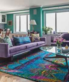 88 Beautiful Apartment Living Room Decor Ideas With Boho Style (38)