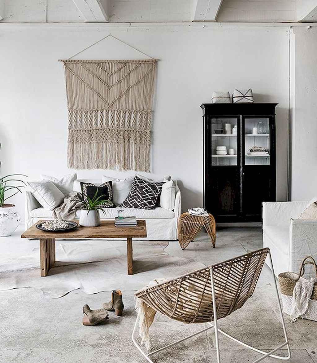 88 Beautiful Apartment Living Room Decor Ideas With Boho Style (63)