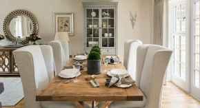 100 Rustic Farmhouse Dining Room Decor Ideas (31)