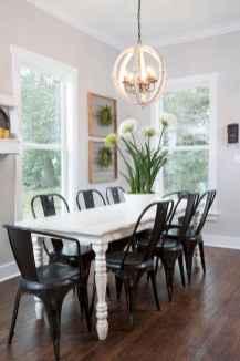 100 Rustic Farmhouse Dining Room Decor Ideas (39)