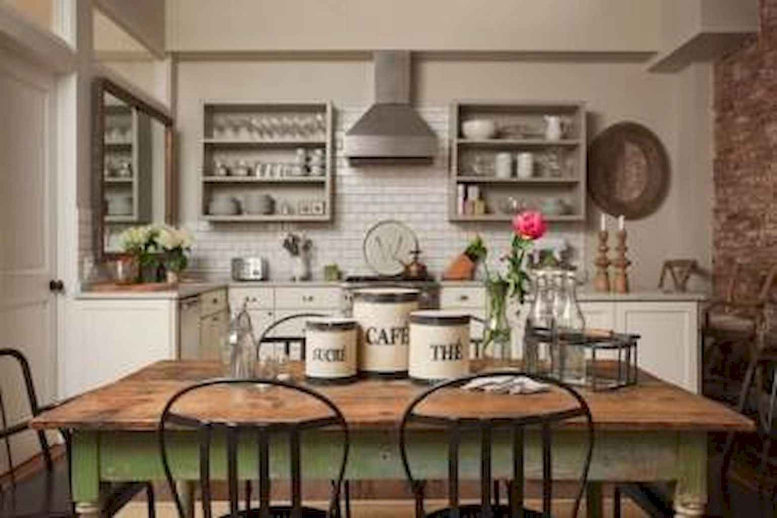 100 Rustic Farmhouse Dining Room Decor Ideas (4)
