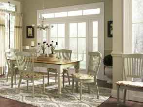 100 Rustic Farmhouse Dining Room Decor Ideas (42)