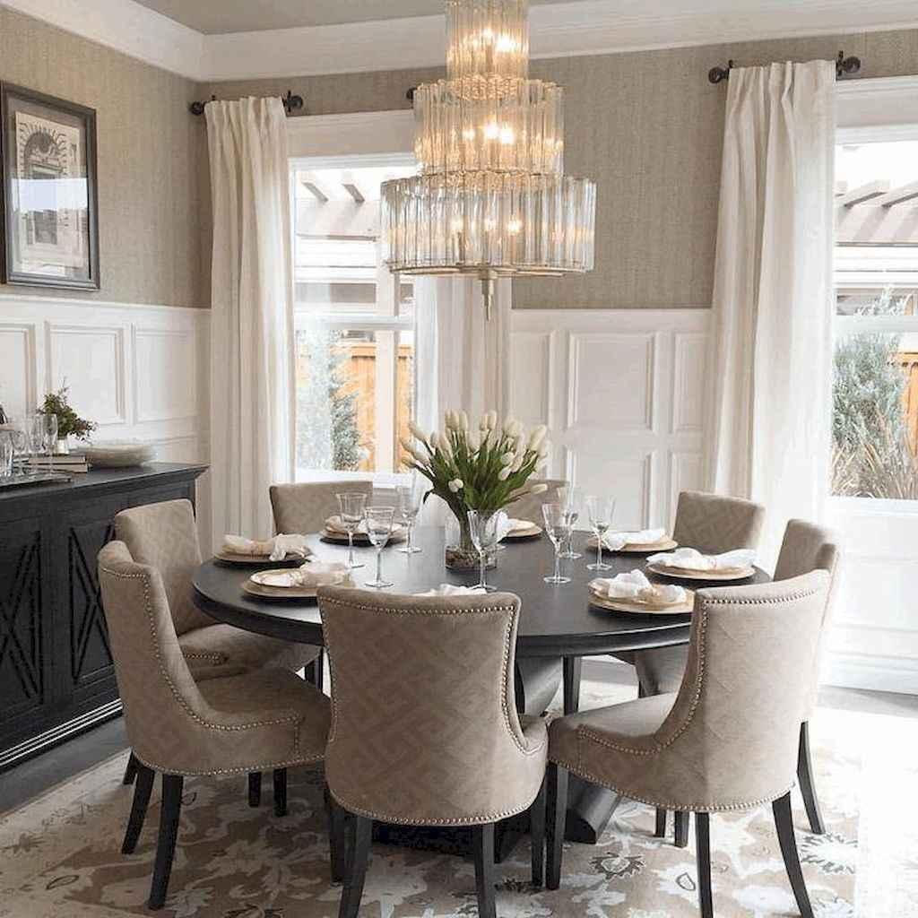 100 Rustic Farmhouse Dining Room Decor Ideas (45)