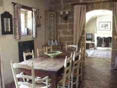 100 Rustic Farmhouse Dining Room Decor Ideas (53)