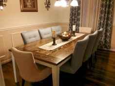 100 Rustic Farmhouse Dining Room Decor Ideas (55)
