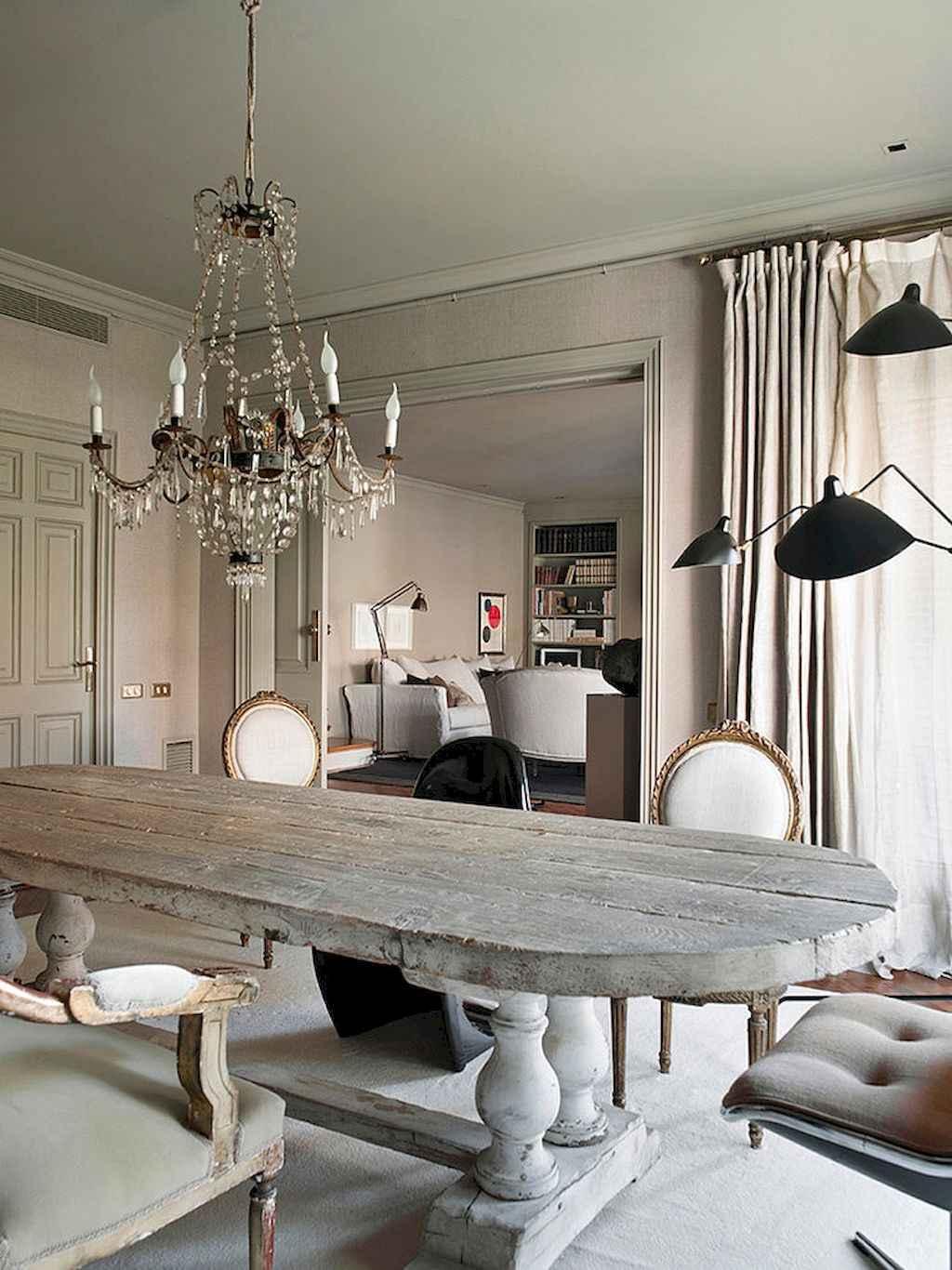 100 Rustic Farmhouse Dining Room Decor Ideas (6)