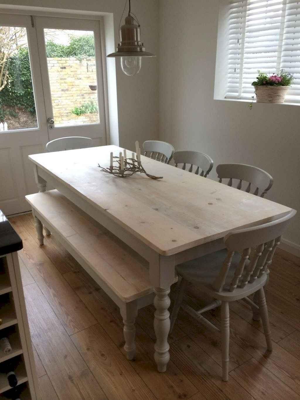 100 Rustic Farmhouse Dining Room Decor Ideas (69)