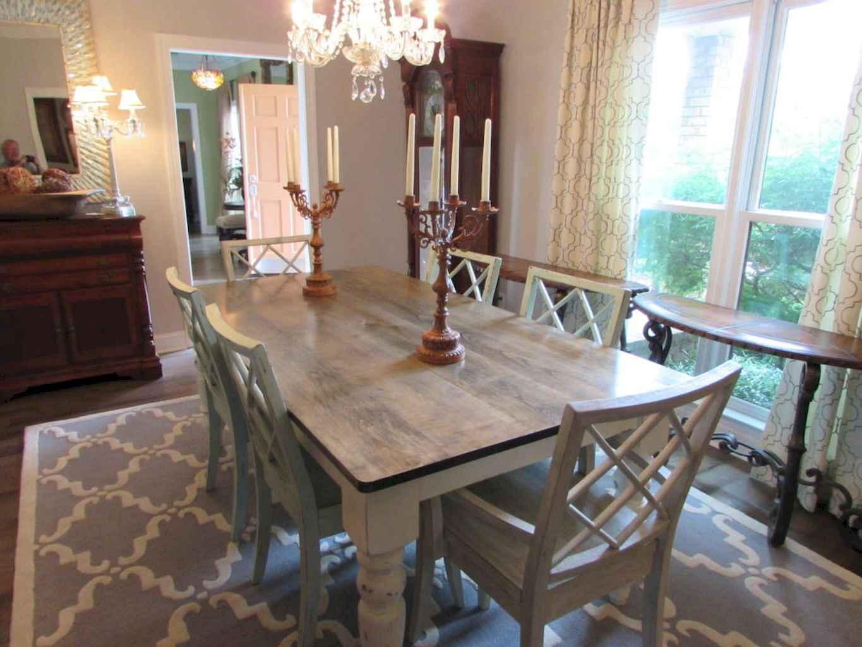 100 Rustic Farmhouse Dining Room Decor Ideas (70)