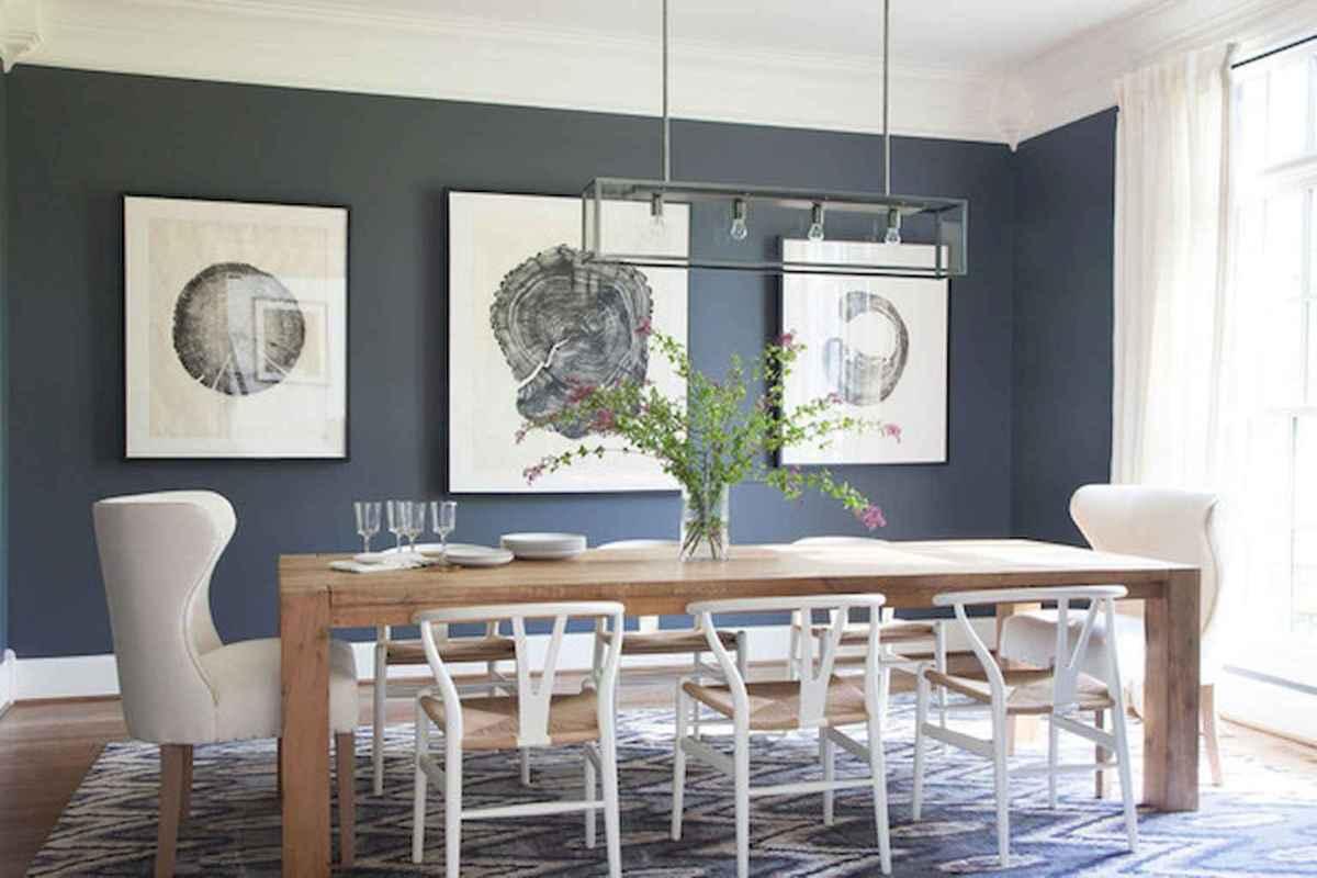 100 Rustic Farmhouse Dining Room Decor Ideas (71)