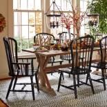 100 Rustic Farmhouse Dining Room Decor Ideas (84)
