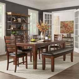 100 Rustic Farmhouse Dining Room Decor Ideas (87)