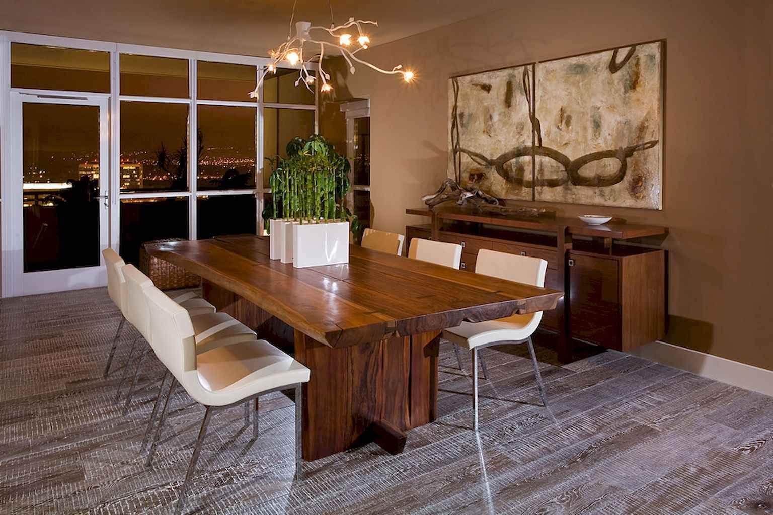 100 Rustic Farmhouse Dining Room Decor Ideas (92)