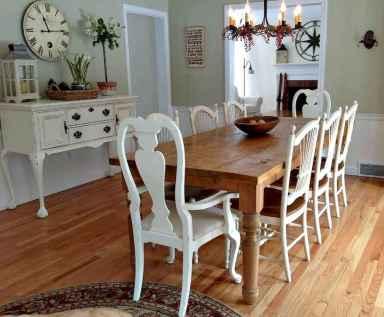 100 Rustic Farmhouse Dining Room Decor Ideas (95)