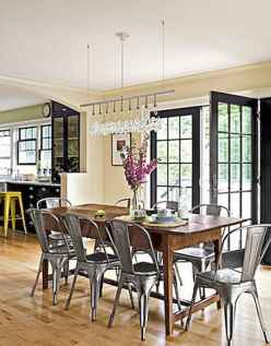 100 Rustic Farmhouse Dining Room Decor Ideas (96)