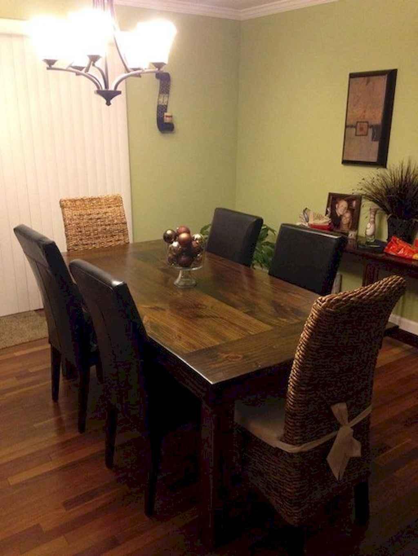 100 Rustic Farmhouse Dining Room Decor Ideas (97)