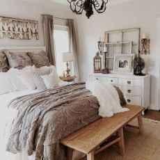 100 Stunning Farmhouse Master Bedroom Decor Ideas (13)