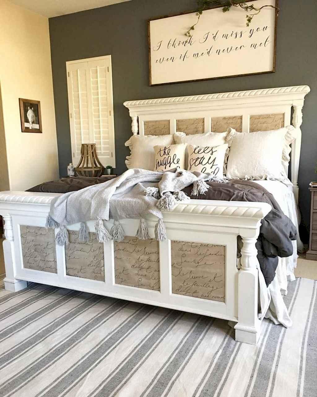 100 Small Master Bedroom Ideas: 100 Stunning Farmhouse Master Bedroom Decor Ideas (29