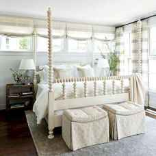 100 Stunning Farmhouse Master Bedroom Decor Ideas (40)