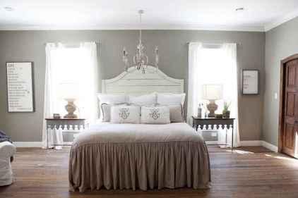 100 Stunning Farmhouse Master Bedroom Decor Ideas (48)