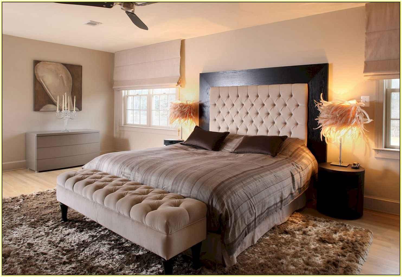 100 Stunning Farmhouse Master Bedroom Decor Ideas (50)