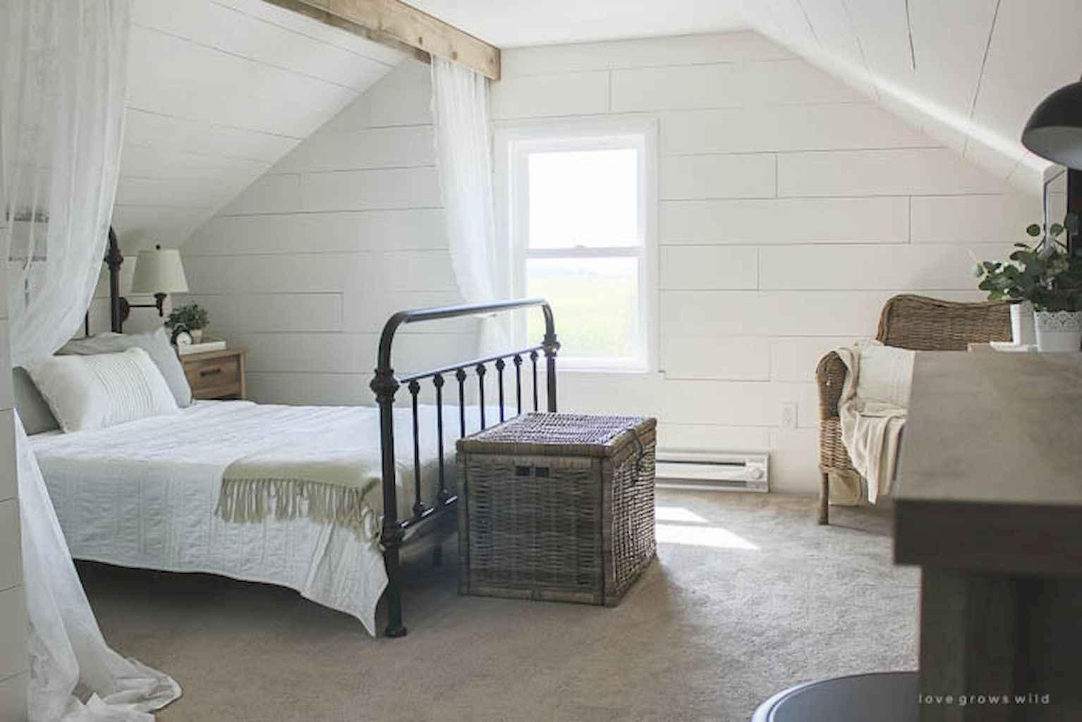 100 Stunning Farmhouse Master Bedroom Decor Ideas (55)