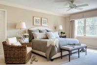 100 Stunning Farmhouse Master Bedroom Decor Ideas (6)