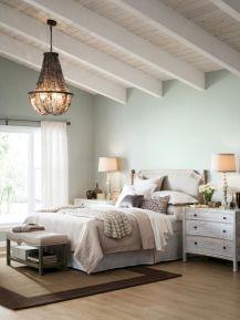 100 Stunning Farmhouse Master Bedroom Decor Ideas (7)