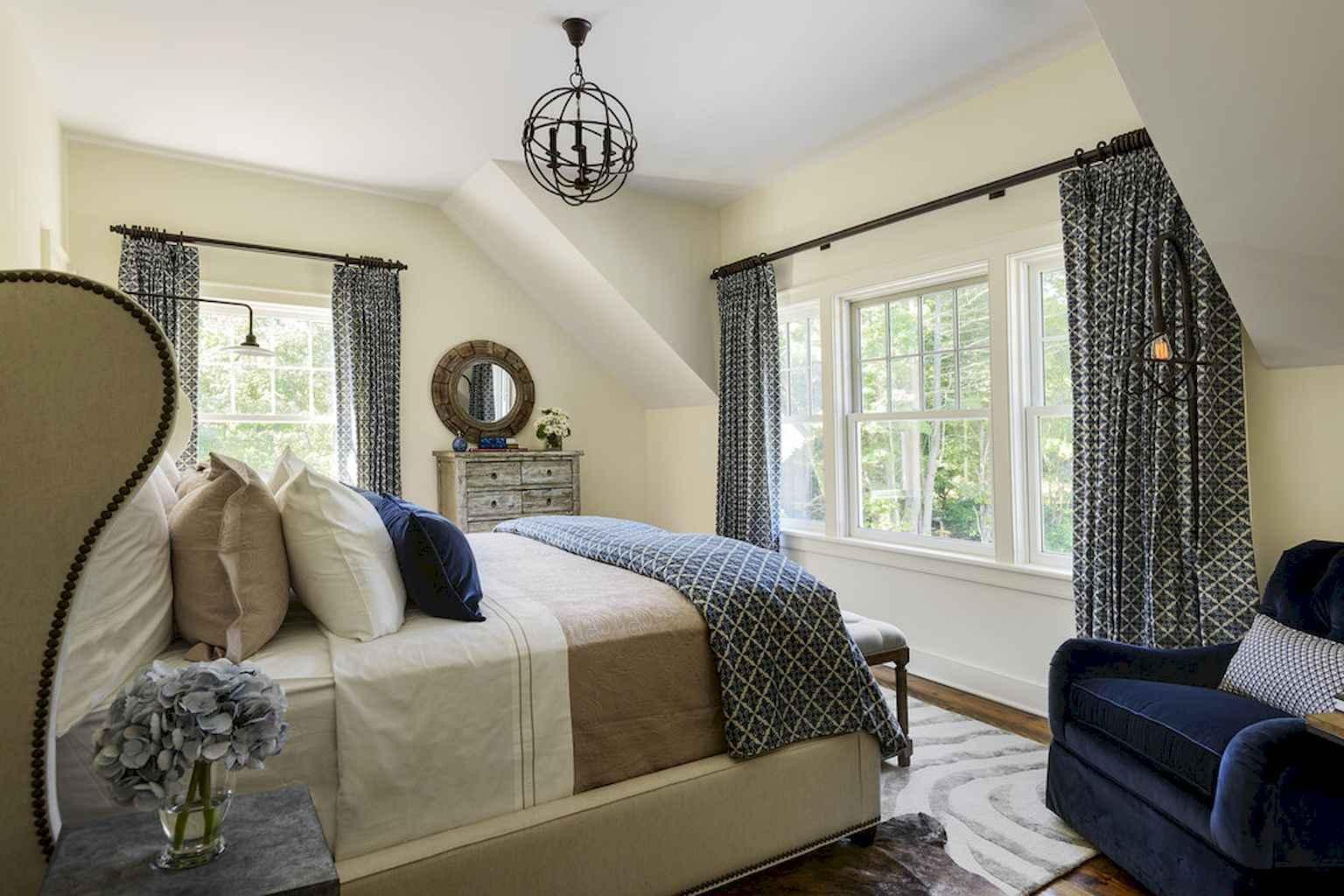 100 Stunning Farmhouse Master Bedroom Decor Ideas (73)