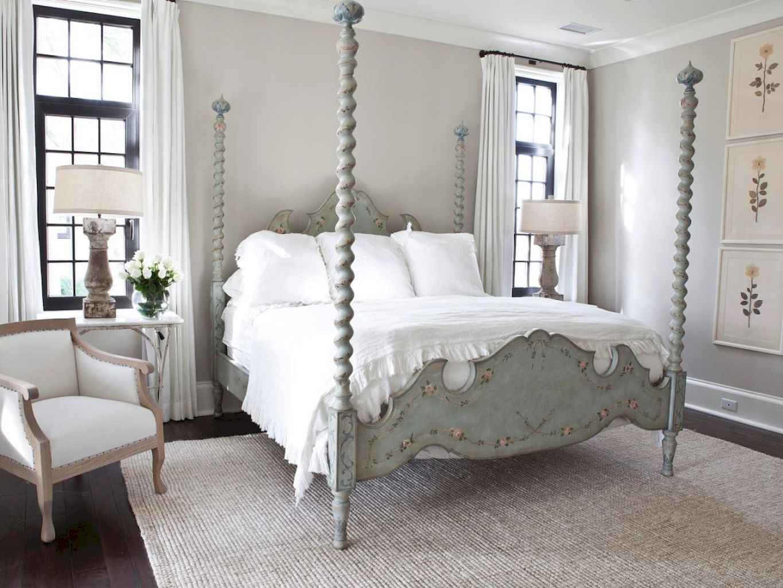 100 Stunning Farmhouse Master Bedroom Decor Ideas (81)