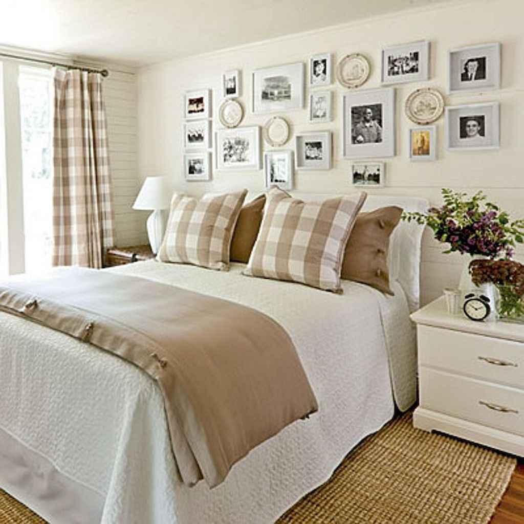 100 Stunning Farmhouse Master Bedroom Decor Ideas (84)