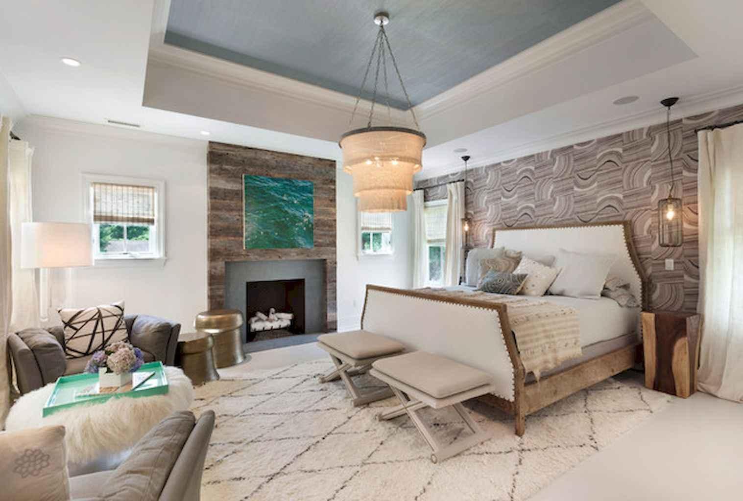 100 Stunning Farmhouse Master Bedroom Decor Ideas (87)