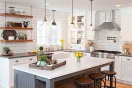 110 Amazing Farmhouse Kitchen Decor Ideas (23)