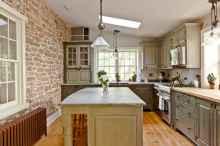 110 Amazing Farmhouse Kitchen Decor Ideas (91)