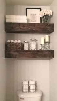 110 Best Farmhouse Bathroom Decor Ideas (123)