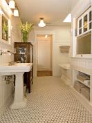 110 Best Farmhouse Bathroom Decor Ideas (139)