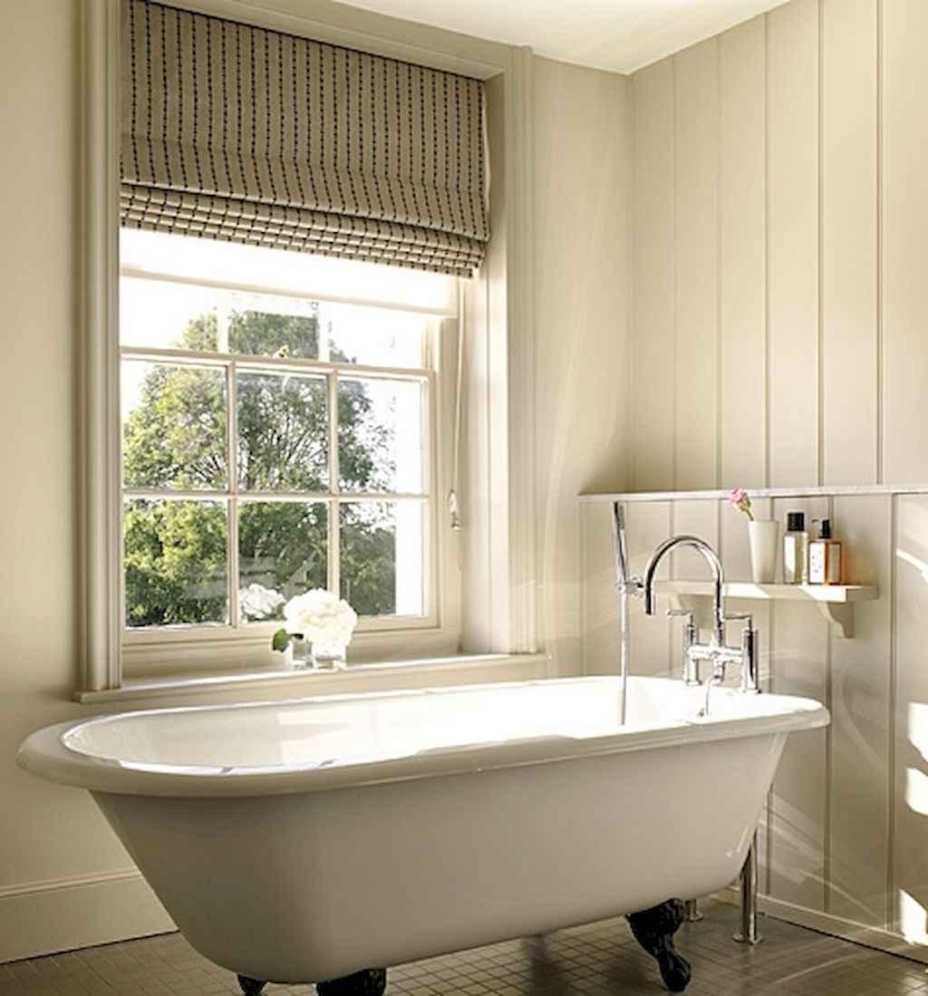 110 Best Farmhouse Bathroom Decor Ideas (183)