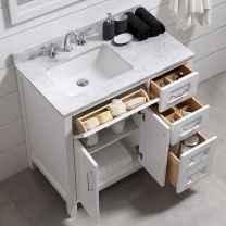 111 Brilliant Small Bathroom Remodel Ideas On A Budget (41)