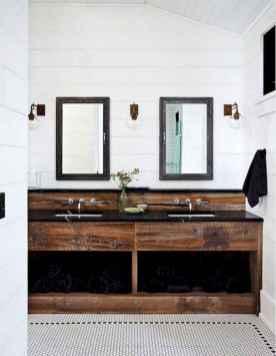 125 Brilliant Farmhouse Bathroom Vanity Remodel Ideas (13)