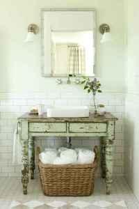 125 Brilliant Farmhouse Bathroom Vanity Remodel Ideas (19)