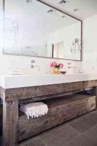 125 Brilliant Farmhouse Bathroom Vanity Remodel Ideas (20)