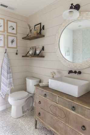 125 Brilliant Farmhouse Bathroom Vanity Remodel Ideas (25)