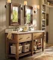 125 Brilliant Farmhouse Bathroom Vanity Remodel Ideas (49)