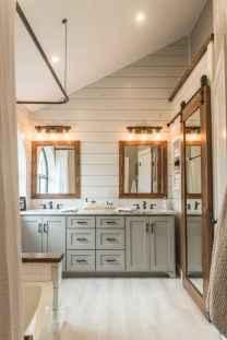 125 Brilliant Farmhouse Bathroom Vanity Remodel Ideas (66)