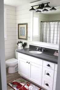 125 Brilliant Farmhouse Bathroom Vanity Remodel Ideas (7)