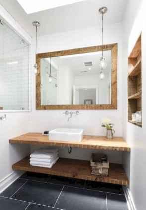 125 Brilliant Farmhouse Bathroom Vanity Remodel Ideas (73)